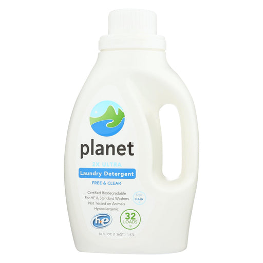 Planet Laundry Detergent - 2x Ultra - Case Of 4 - 50 Fl Oz.