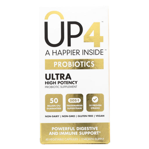 Up4 Probiotics - Dds1 Ultra - 60 Vegetarian Capsules