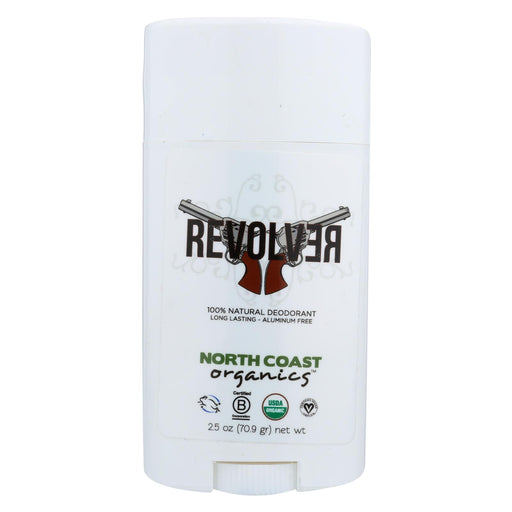 North Coast Organics Deodorant - Revolver - 1 Each - 2.5 Oz.