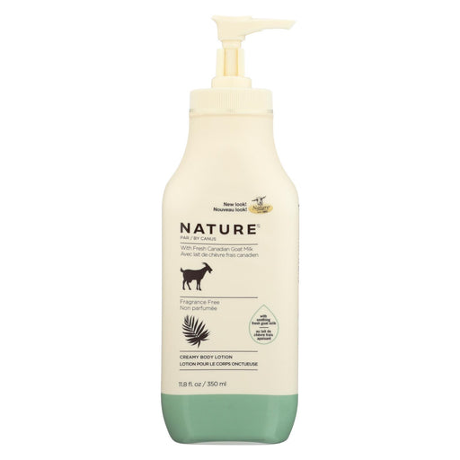 Nature By Canus Lotion - Goats Milk - Nature - Fragrance Free - 11.8 Oz