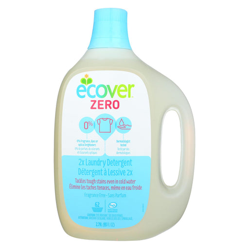 Ecover Zero 2x Laundry Detergent - Case Of 4 - 93 Fl Oz.