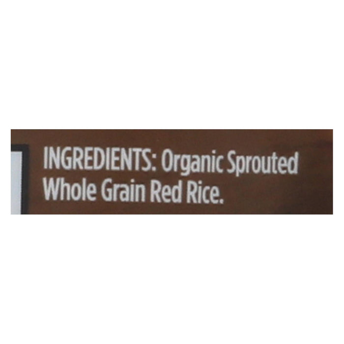 Lundberg Family Farms Sprouted Red Rice - Case Of 6 - 1 Lb.