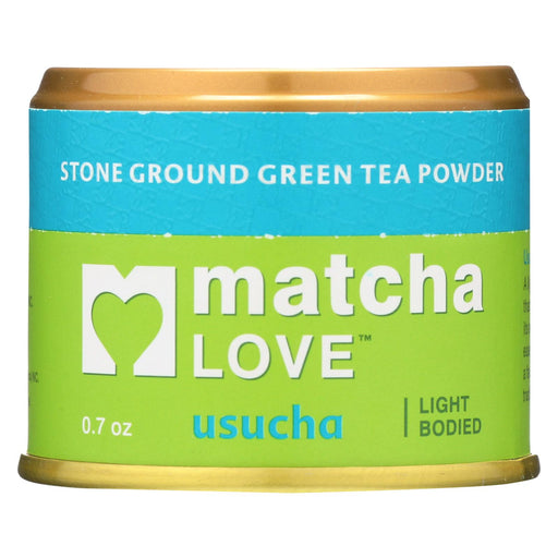 Matcha Love Green Tea Powder - Light Bodied - Case Of 10 - 0.7 Oz.