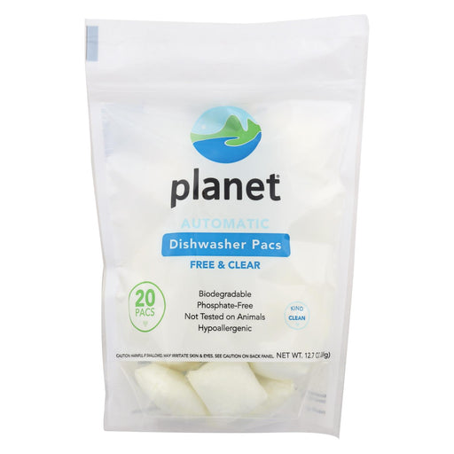Planet Automatic Dishwasher - Case Of 12 - 20 Count