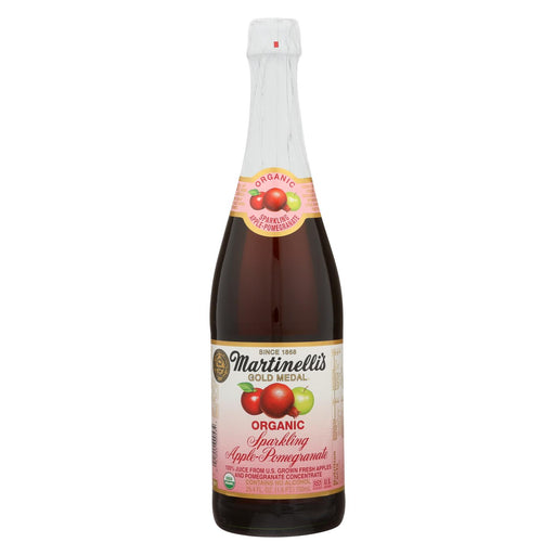 Martinelli's Sparkling Juice - Apple Pomegranate - Case Of 12 - 25.4 Fl Oz