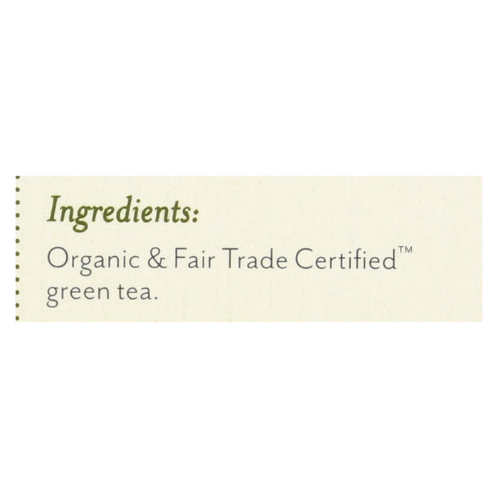 Rishi - Organic Green Tea - Jade Cloud - Case Of 6 - 15 Bags