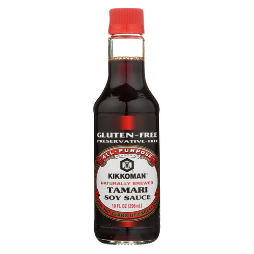 Kikkoman Tamari Soy Sauce - Naturally Brewed - Case Of 6 - 10 Fl Oz