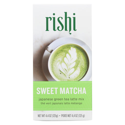 Rishi - Green Tea Powder - Sweet Matcha - Case Of 6 - 4.4 Oz