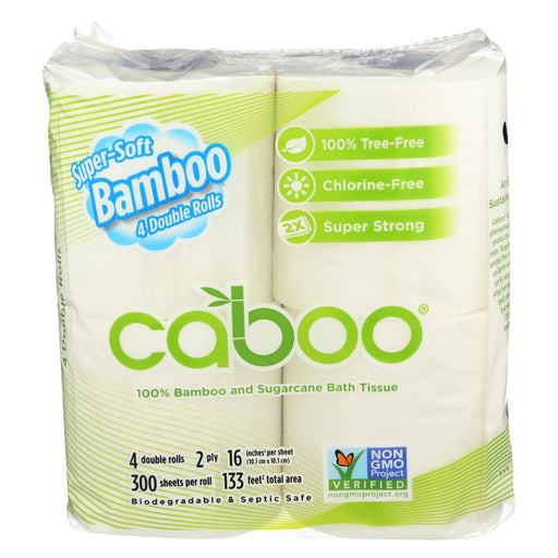 Caboo Bathroom Tissue - Case Of 10