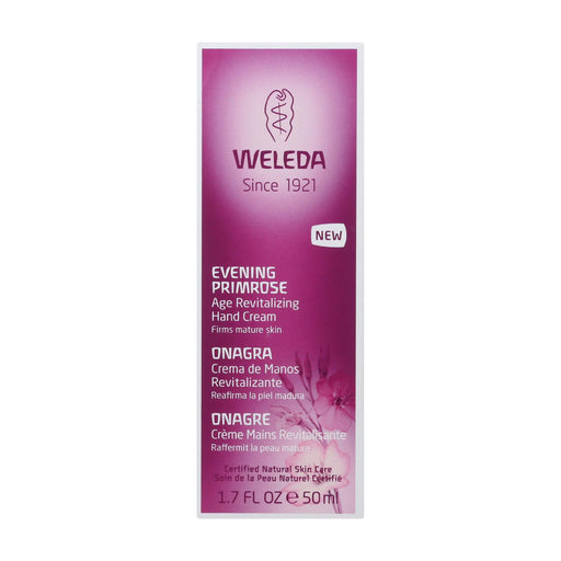 Weleda Hand Creme - Evening Primrose Age Revitalizing - 1.7 Oz