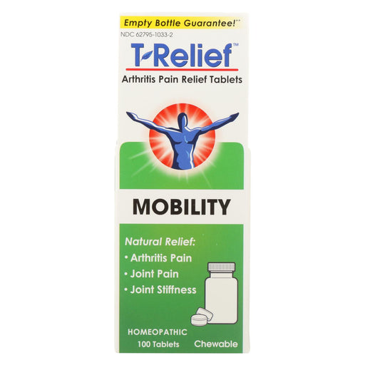 T-relief Zeel - Arthritic Pain - Osteoarthritis - Joint Stiffness - 100 Tablets