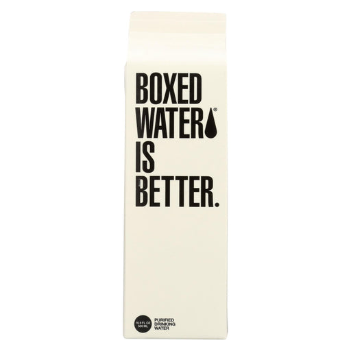 Boxed Water Is Better Water - Purified - Case Of 24 - 16.9 Fl Oz.