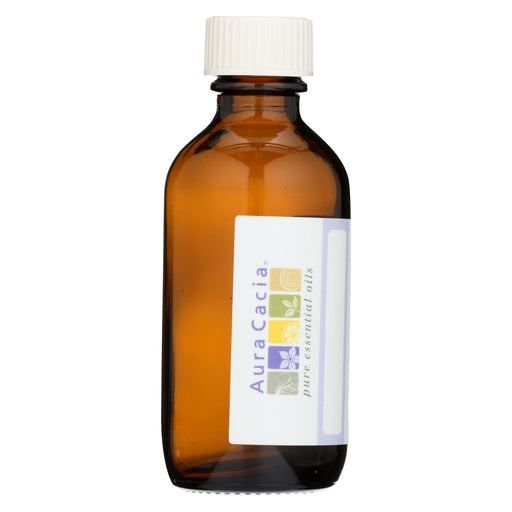 Aura Cacia Bottle - Glass - Amber With Writable Label - 2 Oz