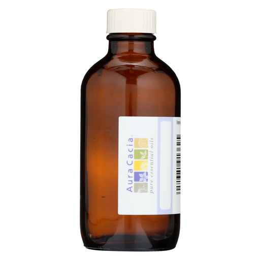 Aura Cacia Bottle - Glass - Amber With Writable Label - 4 Oz