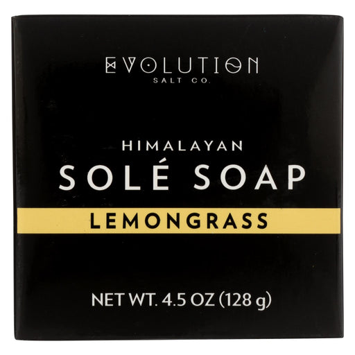 Evolution Salt Bath Soap - Sole - Lemongrass - 4.5 Oz