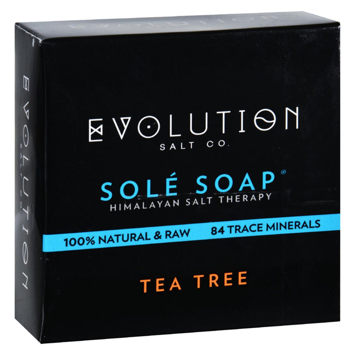 Evolution Salt Bath Soap - Sole - Tea Tree - 4.5 Oz