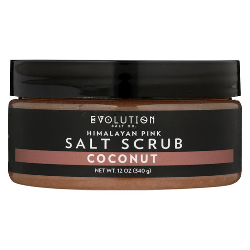Evolution Salt Salt Scrub - Himalayan - Coconut - 12 Oz