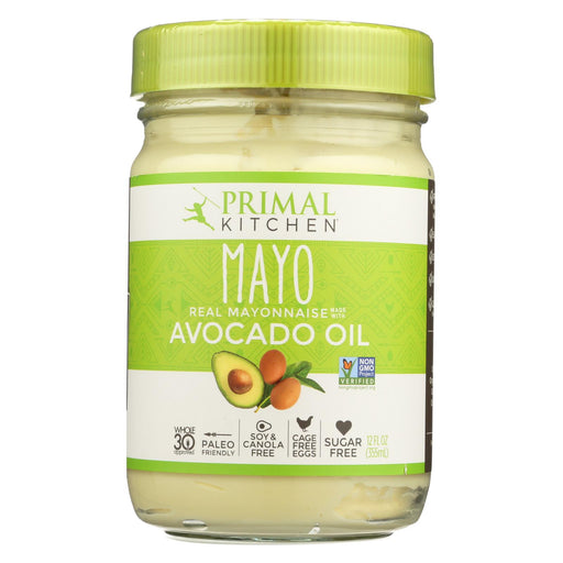 Primal Kitchen Mayo - Avocado Oil - Case Of 6 - 12 Fl Oz.