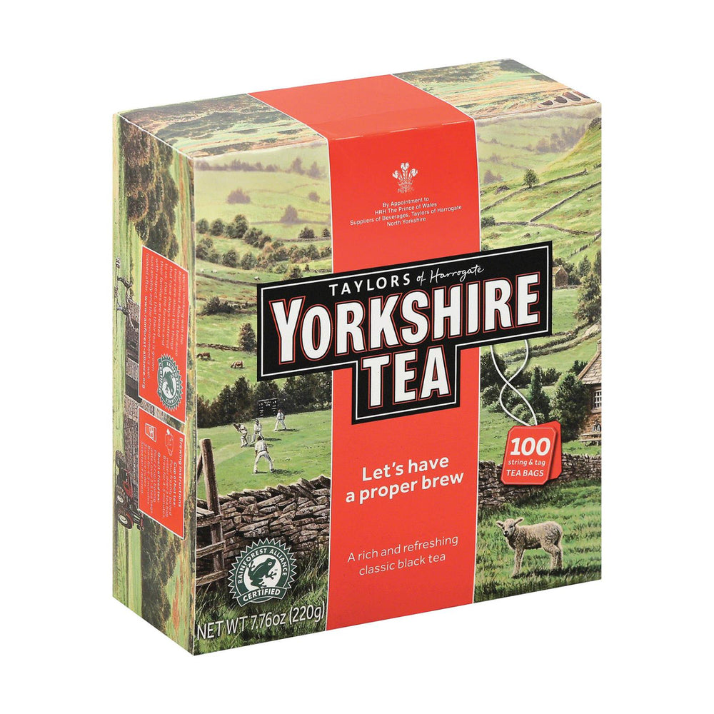 Taylors Of Harrogate Yorkshire Tea - Red - Case Of 4 - 100 Bags