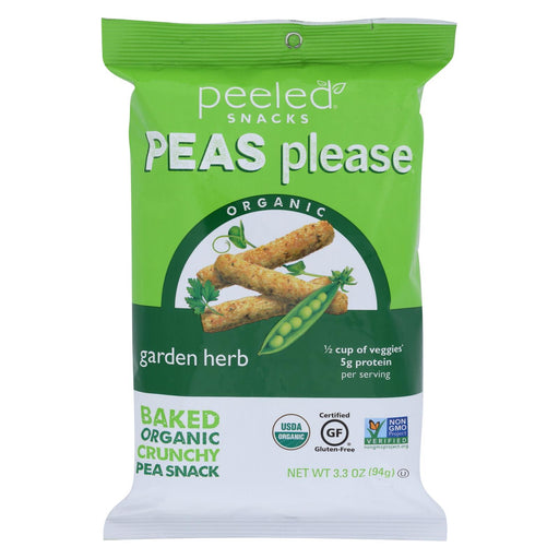 Peeled Peas Please - Garden Herb - Case Of 12 - 3.3 Oz.