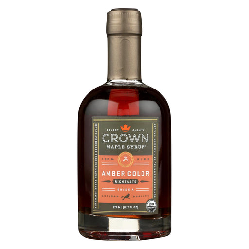 Crown Maple Syrup - Rich Amber - Case Of 6 - 12.7 Fl Oz.