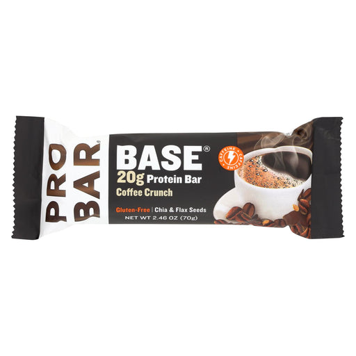 Probar Base Bar - Coffee Crunch - Case Of 12 - 2.46 Oz.