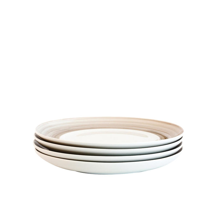 Bambeco Dakota Birch Porcelain Salad Plate - Case Of 4 - 4 Count