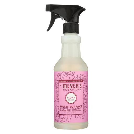 Mrs. Meyer's Clean Day - Multi-surface Everyday Cleaner - Peony - Case Of 6 - 16 Fl Oz