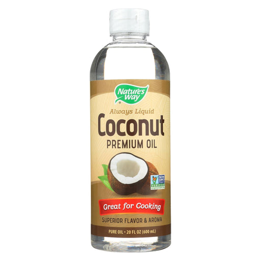 Nature's Way Coconut Premium Oil - Liquid - 20 Fl Oz.