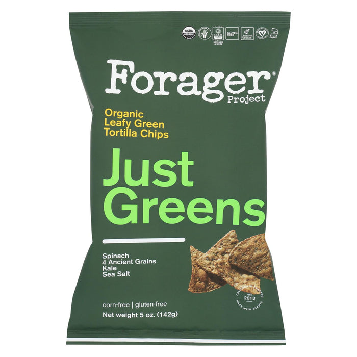 Forager Project Vegetable Chips - Greens - Case Of 12 - 5 Oz.