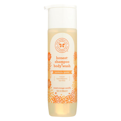 The Honest Company Shampoo And Body Wash - Sweet Orange Vanilla - 10 Fl Oz.