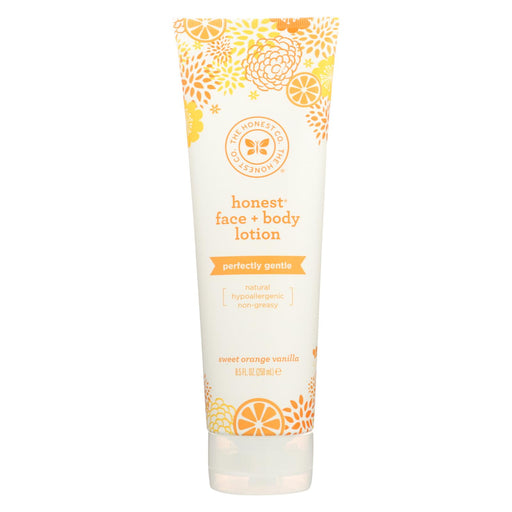 The Honest Company Face And Body Nourishing Lotion - Sweet Orange Vanilla - 8.5 Fl Oz.
