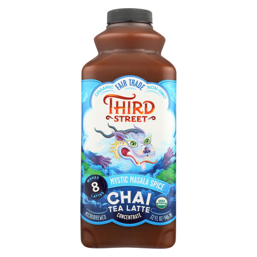 Third St Chai - Mystic Masala Spice - Case Of 6 - 32 Fl Oz.
