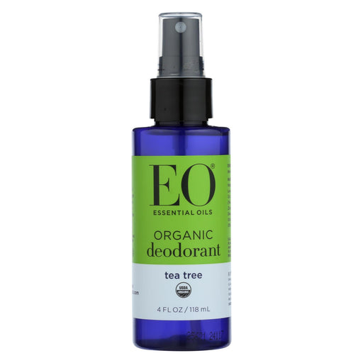 Eo Organic Deodorant Spray - Tea Tree - 4 Fl Oz.