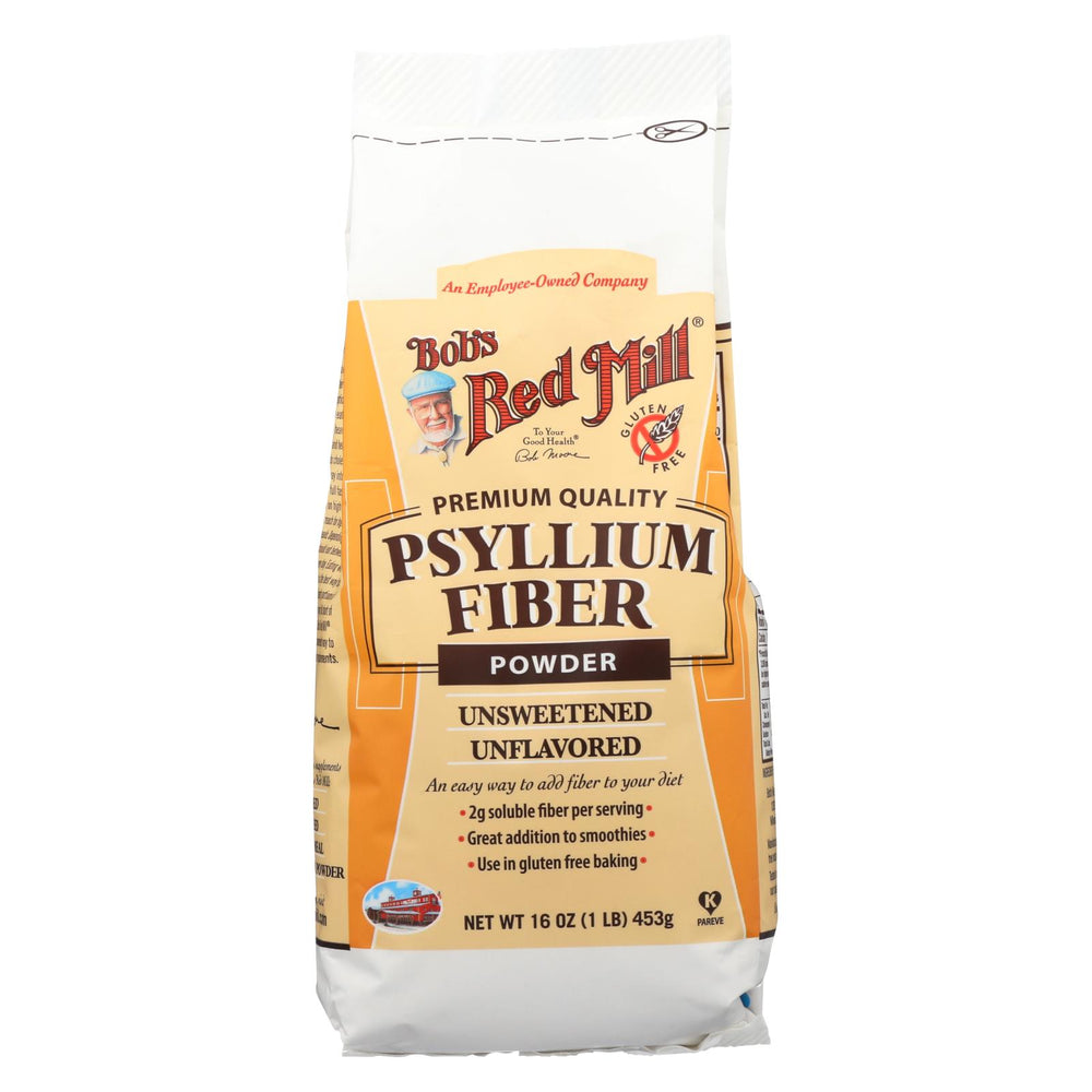 Bob's Red Mill Powder Fiber - Psyllium - Case Of 4 - 16 Oz