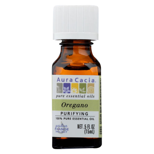 Aura Cacia Essential Oil - Oregano - 0.5 Fl Oz.