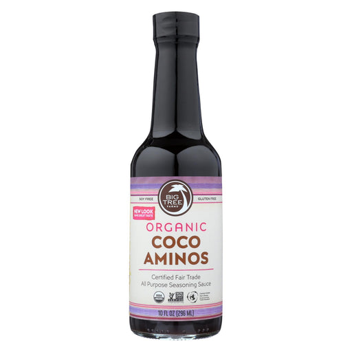 Big Tree Farms Organic Coco Aminos - Case Of 12 - 10 Fl Oz.