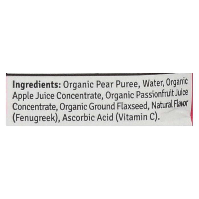 Sweetie Pie Smoothei - Organic - Lactation - Apple Pear - Case Of 12 - 11 1  Oz