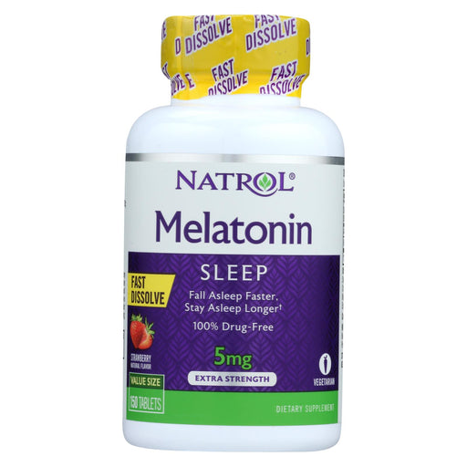 Natrol Melatonin Fast Dissolve Tablets - 5 Mg - 150 Count