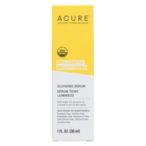 Acure Serum - Firming Facial - 1 Fl Oz