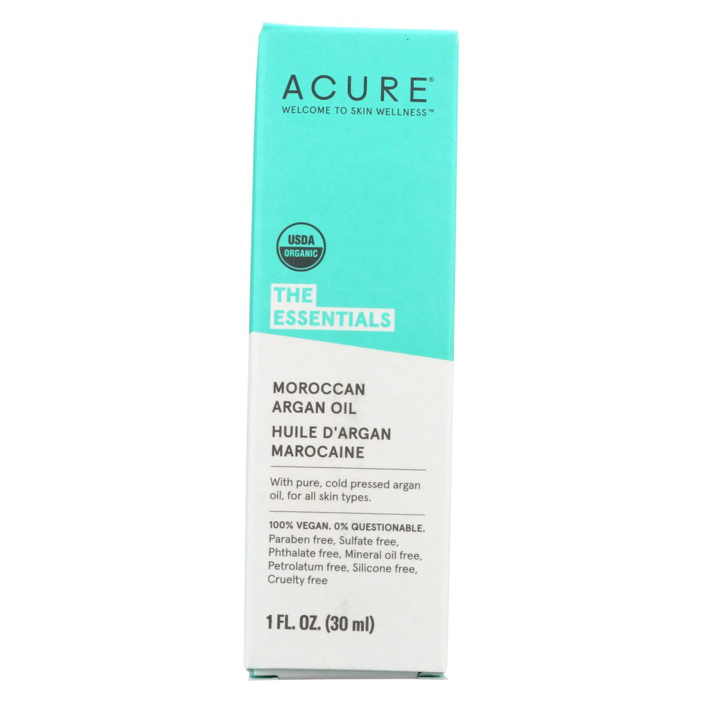 Acure Oil - Argan - 1 Fl Oz