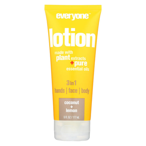 Everyone Lotion - Coconut Lemon - 6 Oz