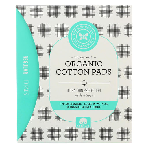 The Honest Company Cotton Pads - Moderate - 10 Count