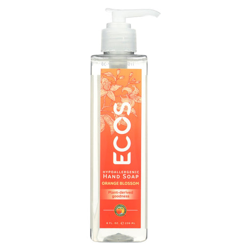 Ecos Hand Soap - Orange Blossom - Case Of 6 - 8 Fl Oz.