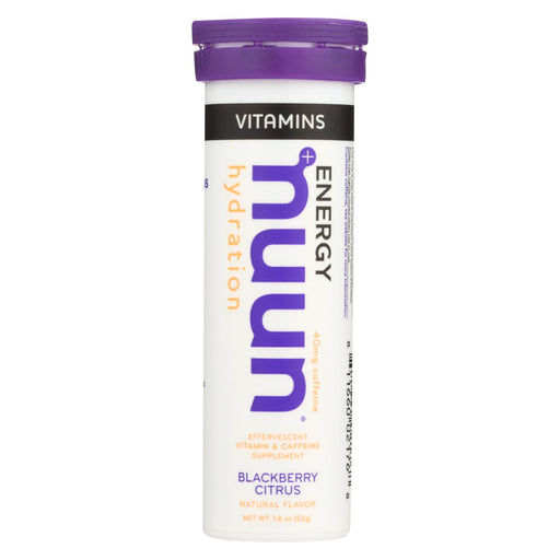 Nuun Hydration Drnk Tab - Blackbery Citrus - Case Of 8 - 12 Tab