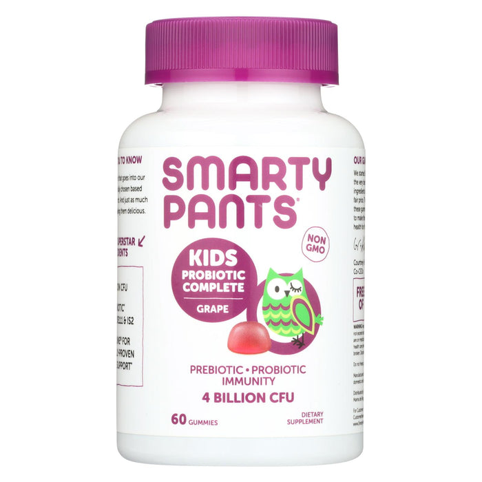 Smartypants Kids Probiotic - Grape - 60 Count