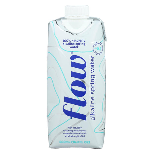 Flow Spring Water - Natural Alkaline - Case Of 12 - 500 Ml