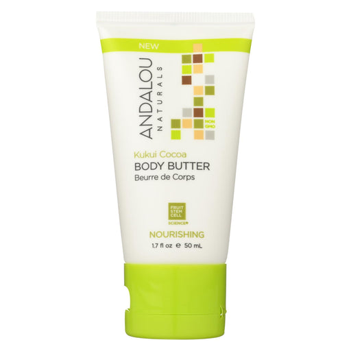 Andalou Naturals Lotion - Kukui Cocoa - Case Of 6 - 1.7 Fl Oz.
