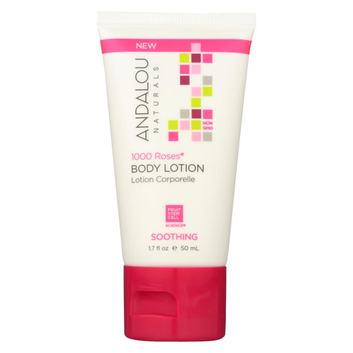 Andalou Naturals Lotion - 1000 Roses - Case Of 6 - 1.7 Fl Oz.