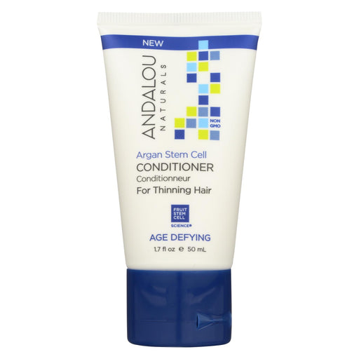 Andalou Naturals Conditioner - Argan Stem Cell - Case Of 6 - 1.7 Fl Oz.